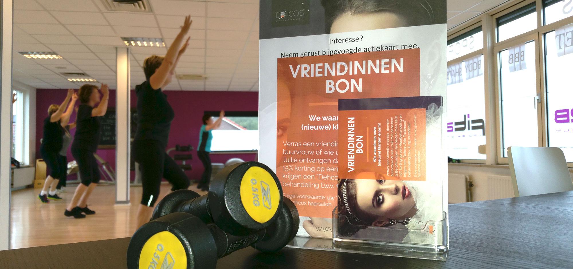 Featured image of article: Sporten bij Fit2B = Gratis Vriendinnenbon!
