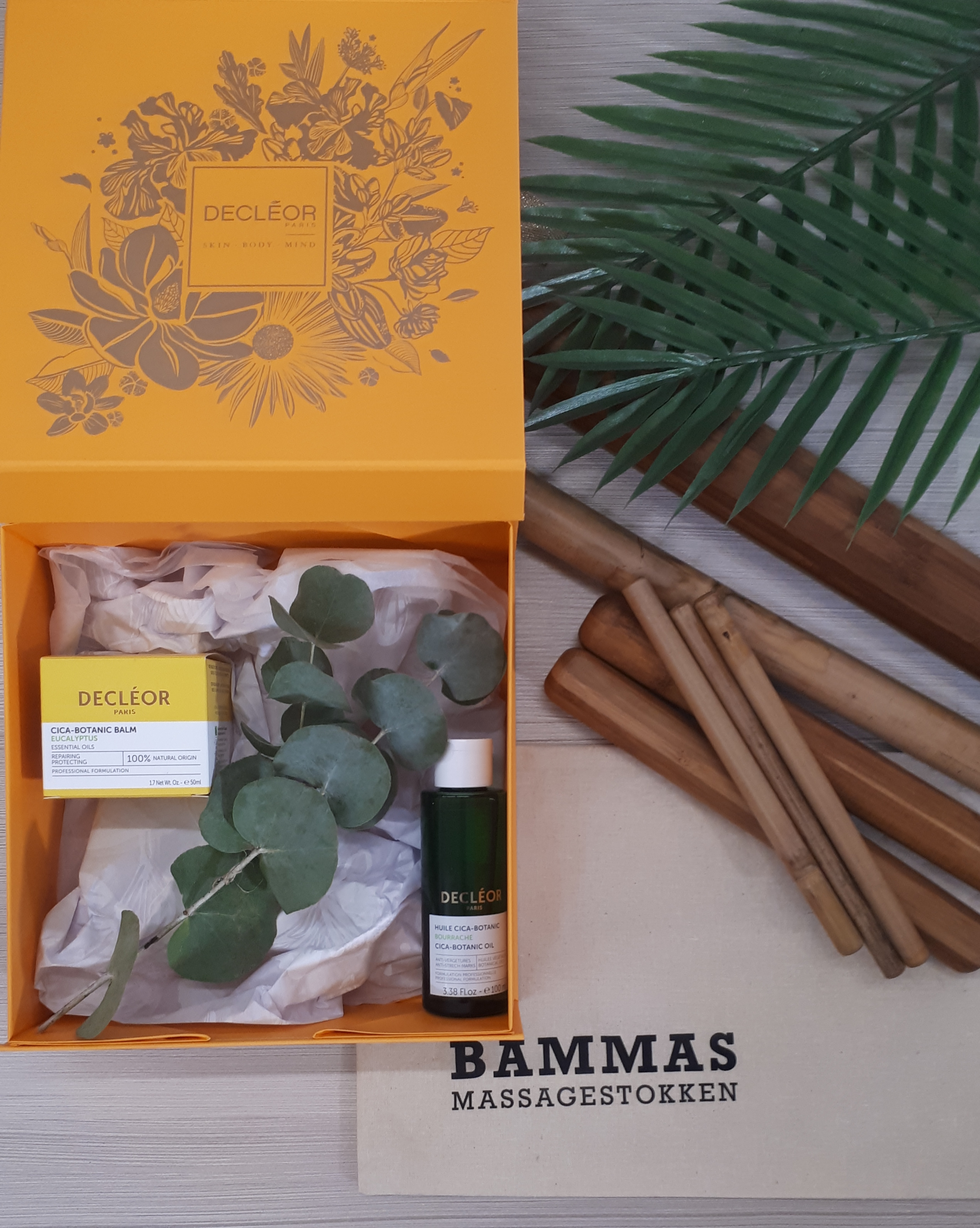 Featured image of article: Ontdek de nieuwe Decléor Bamboo Massage!